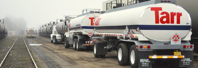 Tarr tanker transports
