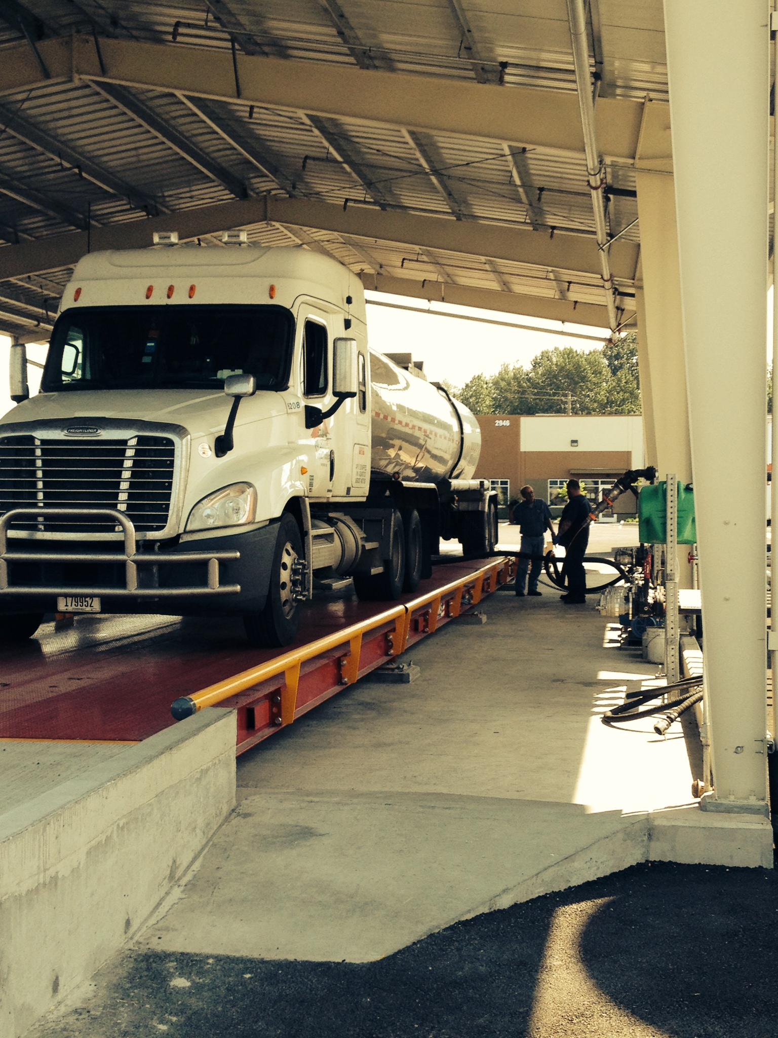 Tarr loading depot
