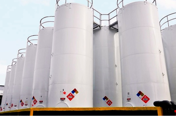 Tarr storage tanks